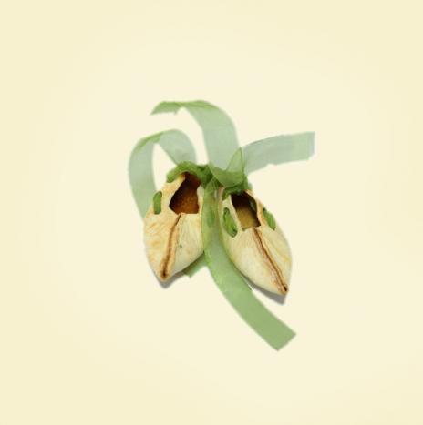 Scarpette in  scorza di bergamotto (Calandrej)