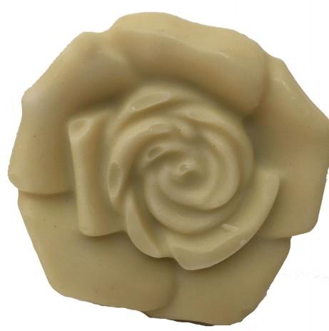 Sapone naturale artigianale con olio di oliva e Bergamotto modello Rosa Grammi 100